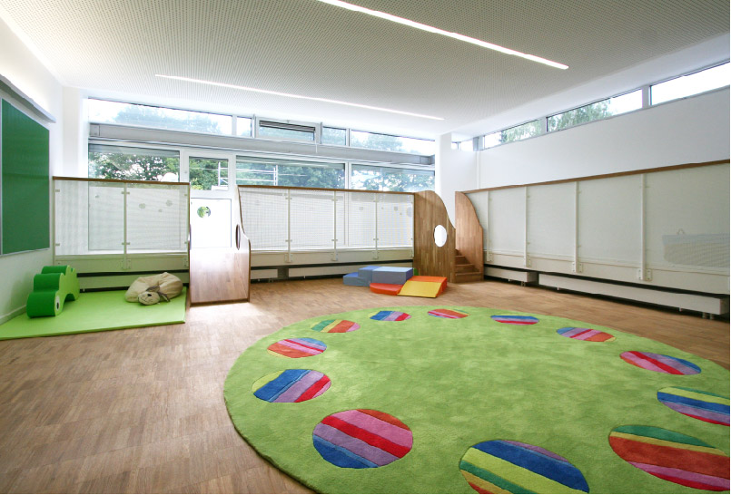 Innenarchitektur Muenchen umbau kinderkrippe petitini gross innenarchitektur