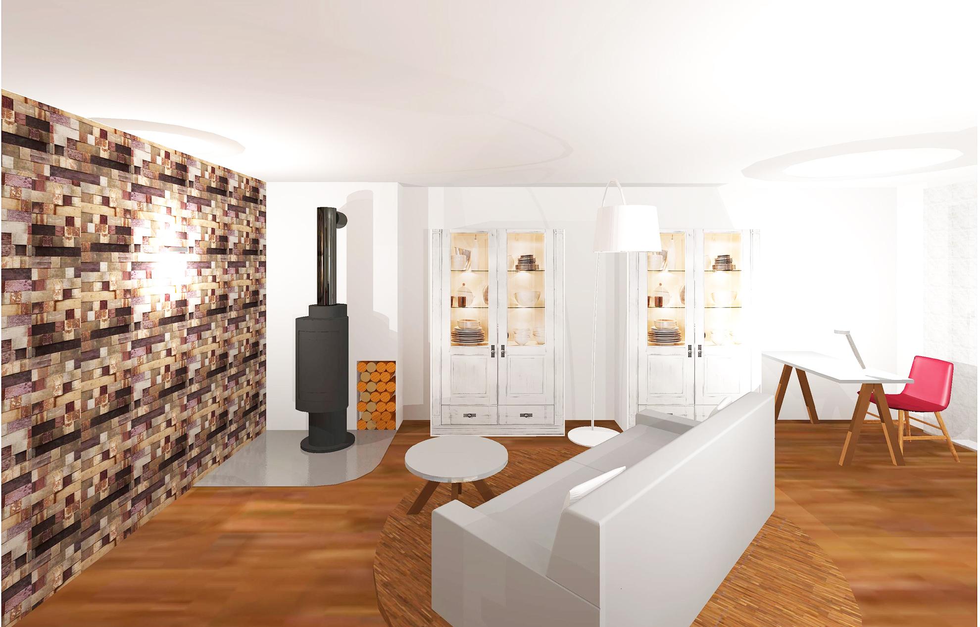 Neugestaltung wohn und esszimmer gross innenarchitektur for Innenarchitektur esszimmer
