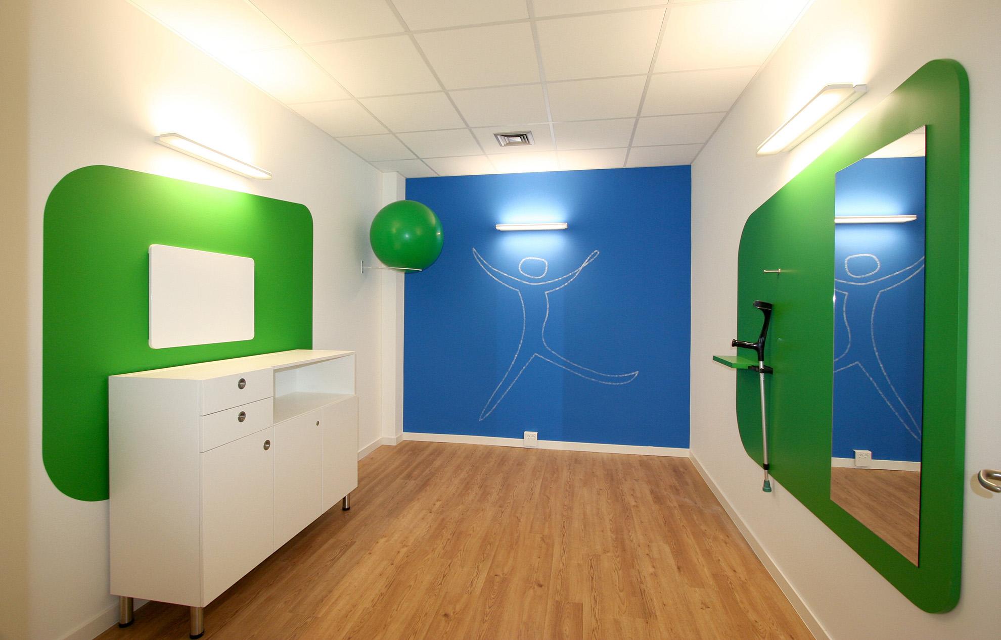 Umbau Gesundheitszentrum - GROSS | Innenarchitektur